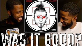 "EMINEM ""KILLSHOT"" REVIEW AND REACTION #MALLORYBROS 4K"
