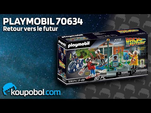 Vidéo PLAYMOBIL Back to the Future 70634 : Course d'hoverboard