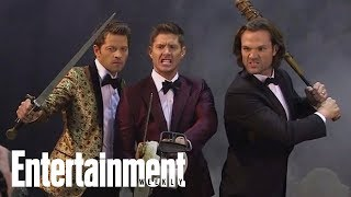 Entertainment Weekly | 'Supernatural' Cover Shoot - Halloween Edition [Octobre 2017]