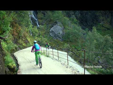 'Rallarvegen - fietsroute door Noorwegen' thumbnail