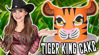 TIGER KING CAKE - NERDY NUMMIES thumbnail