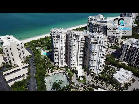Park Shore Brittany Real Estate Flyover in Naples, Florida