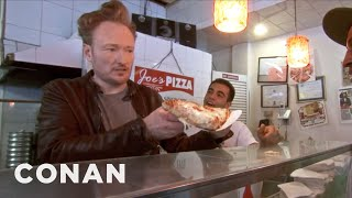Conan Makes NYC Pizza - CONAN on TBS