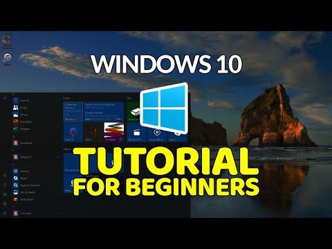 Windows 10 Tutorial for Beginners - YouTube