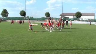 preview picture of video 'Vienna Pirates Cheerleading - Red Crystal, Junior All Girl Cheer @ Danube Challenge Cup'