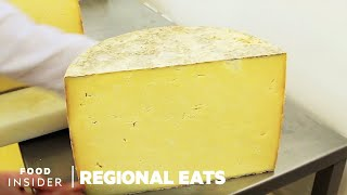 Why Traditional English Cheddar Is Aged In Caves | Regional Eats