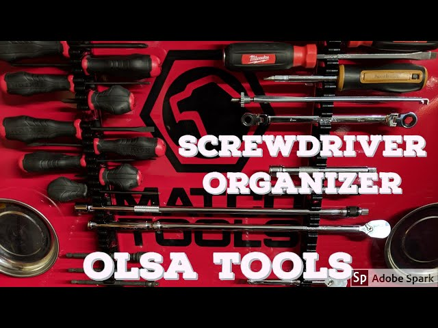 Youtube Video for Magnetic Screwdriver Organizer by TonyTheTechnician