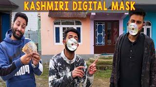 Kashmiri Digital Mask | Kashmiri Drama | Koshur Kalakar