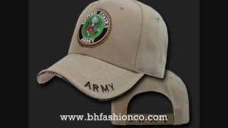 MENS BASEBALL MILITARY NAVY SWAT ARMY FITTED CAP HAT COLLECTION - WWW.BHFASHIONCO.COM