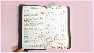 Midori Planner Setup Tour 2015 ● Sketchbook, Planner, Shop
