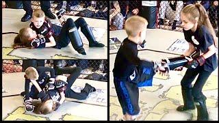 BOY -V- GIRL MMA BOUT – ADAM -V- KELLY – FIGHT IKON
