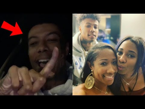 Blueface Makes A Diss Track On His Mom & Sister