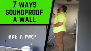 How to Soundproof a Wall - 7 Easy DIY Ways!