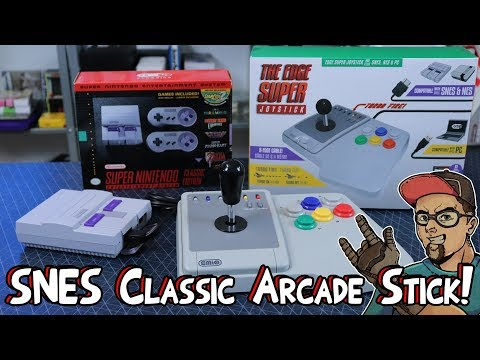 SNES Classic Arcade Stick Review – The Pure Trash Emio Edge Super Joystick