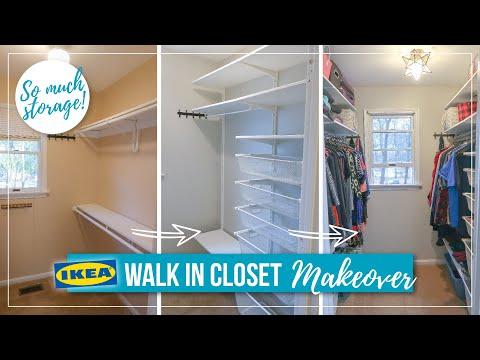 [ANOTHER] CLOSET MAKEOVER: Installing Ikea Boaxel System – master bedroom closet organization