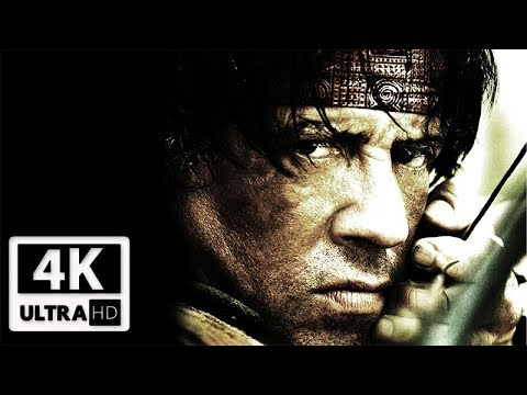 RAMBO: The Video Game All Cutscenes (Game Movie) 4k 60FPS