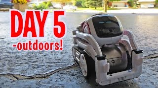 Cozmo - Day 5: OUTDOORS with Anki's New Cute Robot