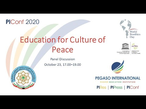 Panel discussion: Education for Culture of Peace