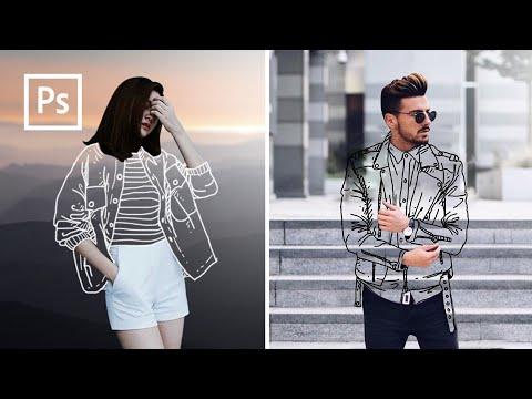 Cara Edit Foto Baju Transparan, Clothless effect - Edit ...