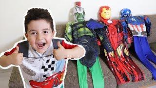 Yusuf Süper Kahraman Oldu | Yusuf Rescue Mission with Super Hero