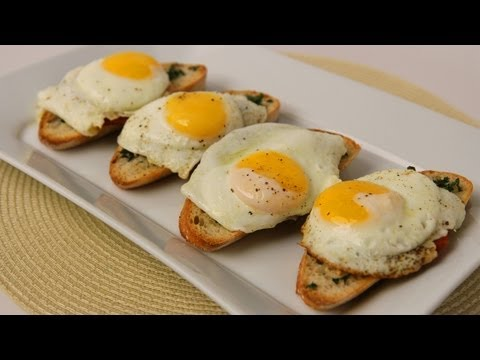 Homemade Breakfast Bruschetta Recipe – Laura Vitale – Laura in the Kitchen Episode 427