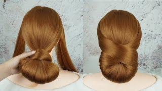 Low Bun Hairstyles For Weddings | Modern Hair Updo For Brides | EASY Updo Hairstyles