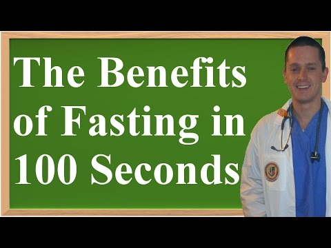 Video All The Benefits of Fasting in 100 Seconds