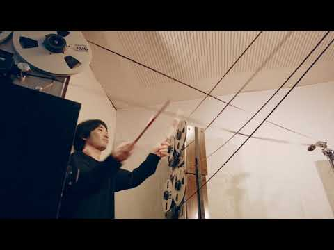 Tape tapping percussionist plays to perfection