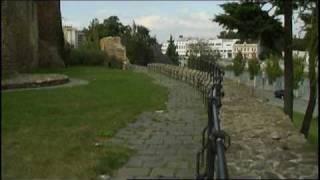 preview picture of video 'Přerov - Horní náměstí, hradby a park'