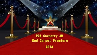 preview picture of video 'PQA Coventry Red Carpet Premiere @ Square One 3D Cinema, The Hub.'