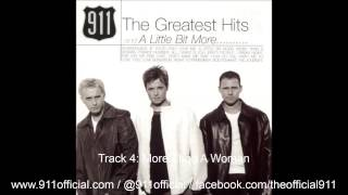 911 - The Greatest Hits and A Little Bit More Album - 04/14: More Than A Woman [Audio] (1999)