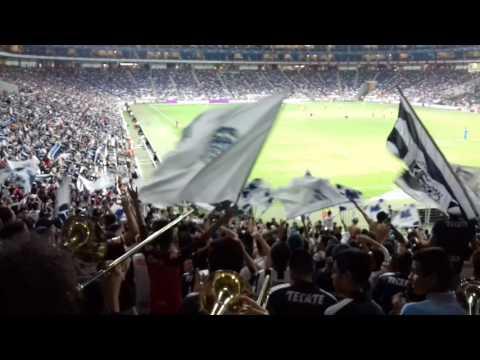 """""""La numero 1 de las hinchadas"""" Barra: La Adicción • Club: Monterrey"""
