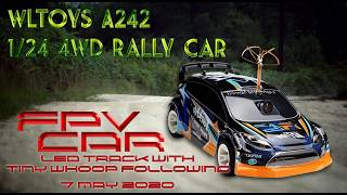 FPV RC Rally Car chased by Tiny Whoop 7 May 20