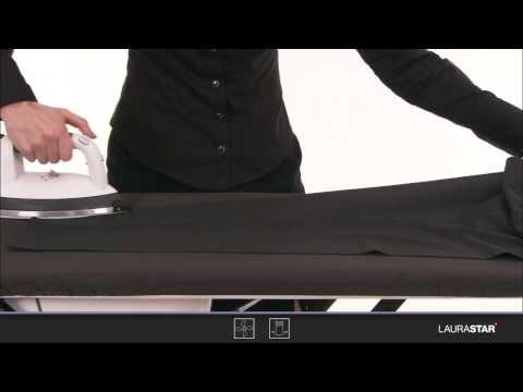 Laurastar - So bügeln Sie Ihre Hose richtig