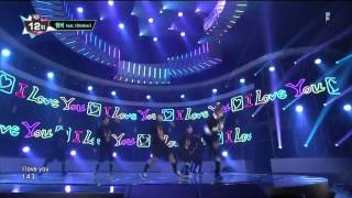 130905 Henry feat. Amber f(x) - 1-4-3 (I Love You) @ M!Countdown [1080P]