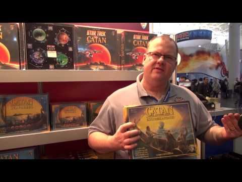 Overview of Catan: Explorers & Pirates – filmed at PAX East 2013