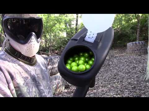 New Planet Eclipse Paintball loader - PAL - Shooting Video!