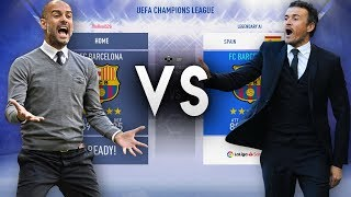 Pep Guardiola's Barcelona VS Luis Enrique's Barcelona - FIFA 19 Experiment