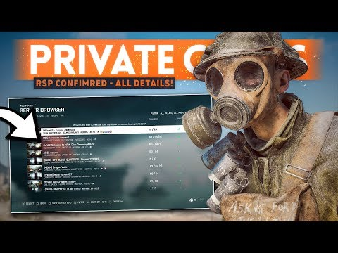 BATTLEFIELD 5 RSP CONFIRMED... And It's FREE! - Battlefield V Private Games Details