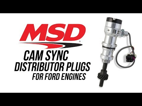 MSD Cam Sync Distributor Plugs for Ford Engines