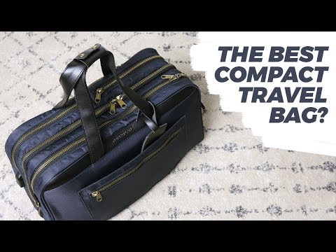 Best Compact Carry-On Bag For Men | One Bag Travel, Weekender Style! (A Nomad Lane Bento Bag review)
