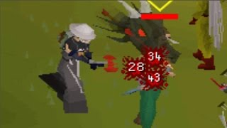 OSRS Dragon Thrownaxe and Dark Bow Void PKing