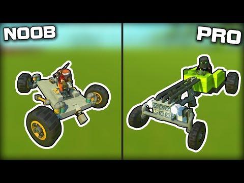 NOOB vs PRO Piston Powered Vehicle Challenge! (Scrap Mechanic Gameplay)
