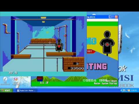 Marksman Shooting/Trap Shooting (Master System) Gameplay