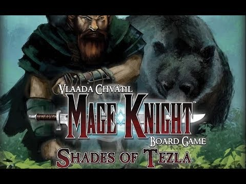 Box of Delights Presents ..... MAGE KNIGHT: Shades of Tezla