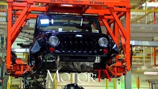 CAR FACTORY  : JEEP WRANGLER PRODUCTION  l ASSEMBLY LINE