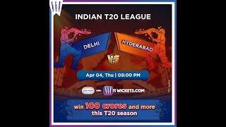 DELHI CAPITALS vs SUNRISERS HYDERABAD | PLAYING XI OF BOTH TEAMS | IPL 2019