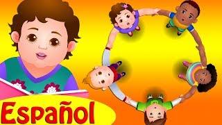 UN CÍRCULO A LAS ROSAS y muchas más Canciones Infantiles Populares   ChuChu TV