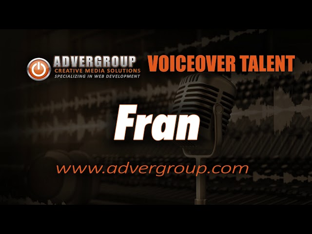 FRAN Female VOICEOVE ..