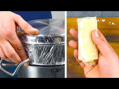 Wrap A Colander In Plastic & Stick It On A Pot | 3 Rockin' Spring Roll Recipes